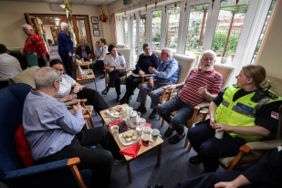 AGAMEMNON ASSOCIATION COMMUNITY COFFEE AND MINCE PIES